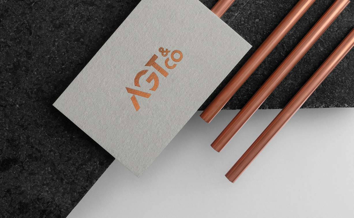 agt & co business card copper tubings