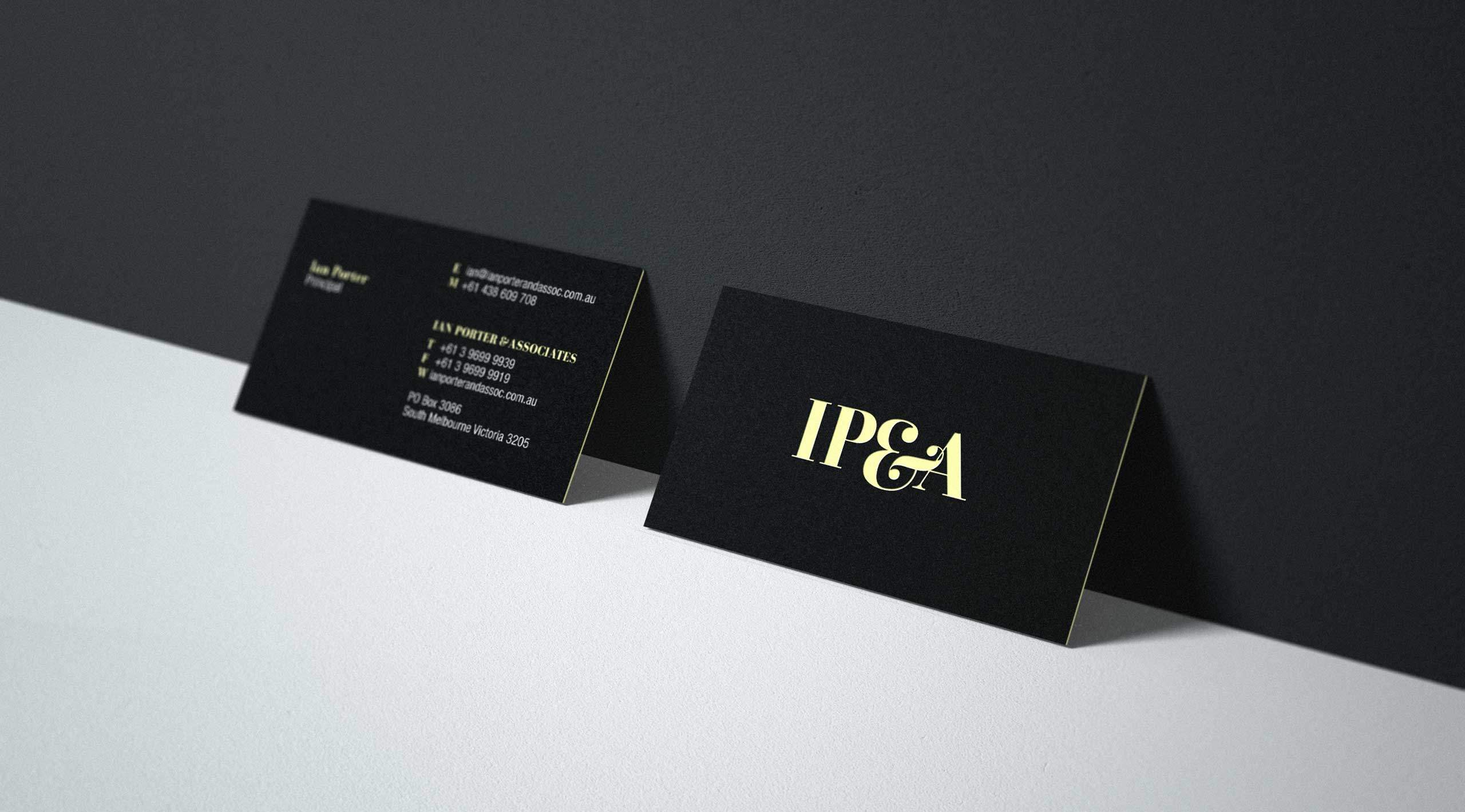 ipa debossed business cards terri van hattum