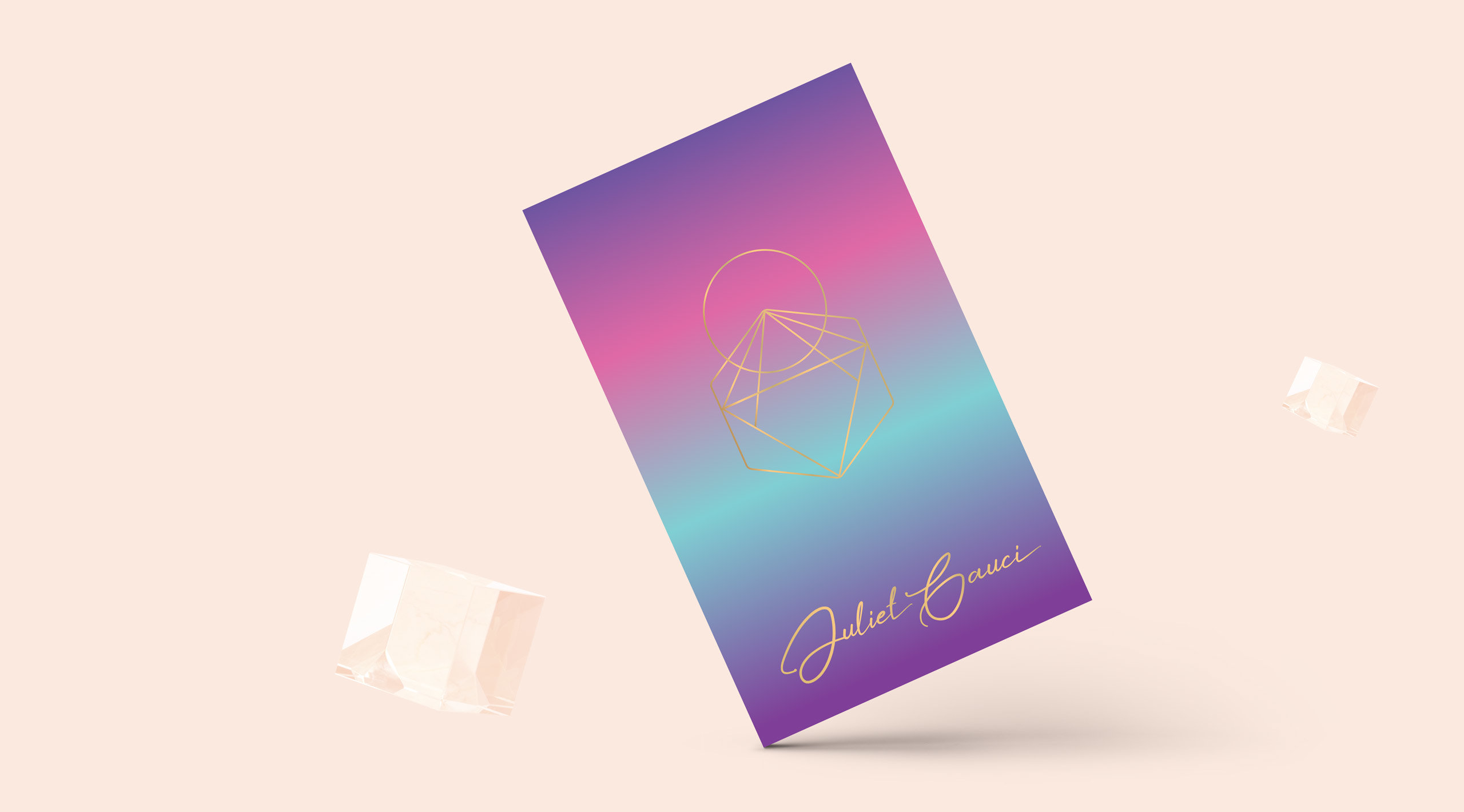 juliet gauci gradient business card